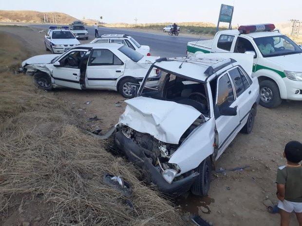 افزایش ۱.۷ درصدی تلفات حوادث رانندگی در پنج ماهه امسال