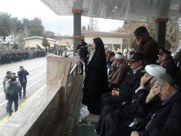 حضور رئیس سازمان بازرسی در مراسم بزرگداشت شهدای حمله تروریستی خاش